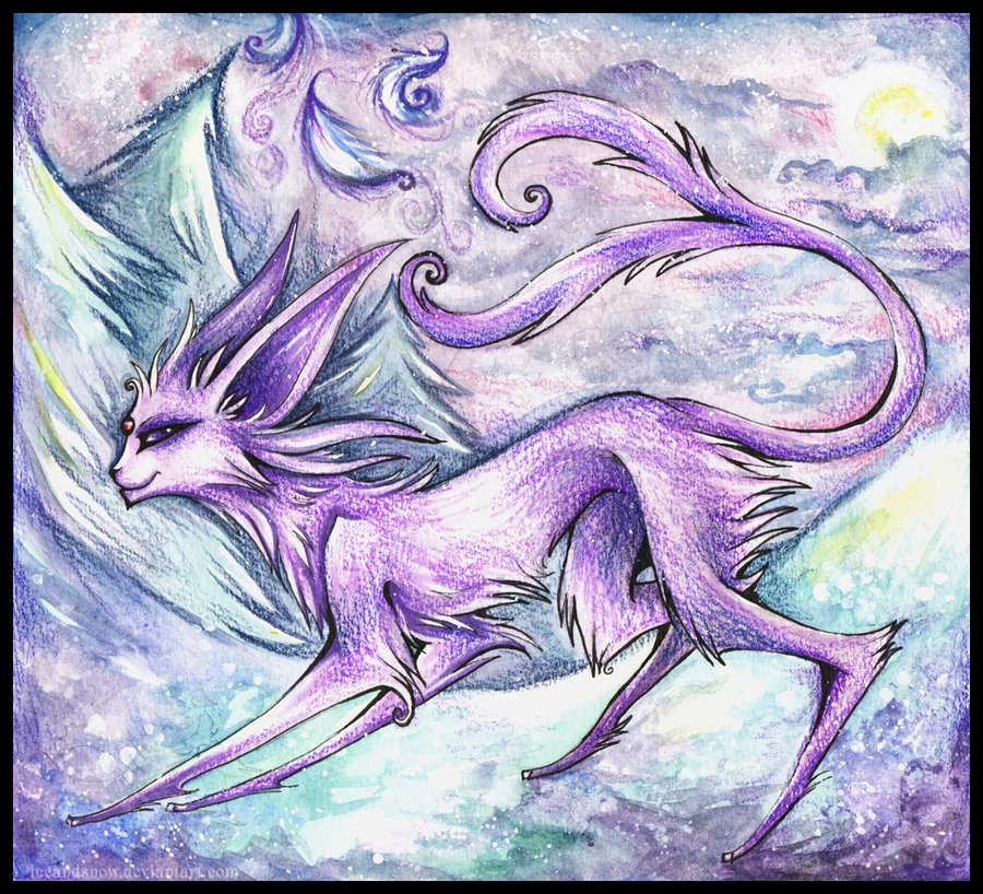 Colored-pencils Espeon