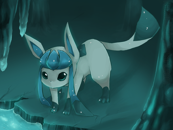 Meek cave Glaceon