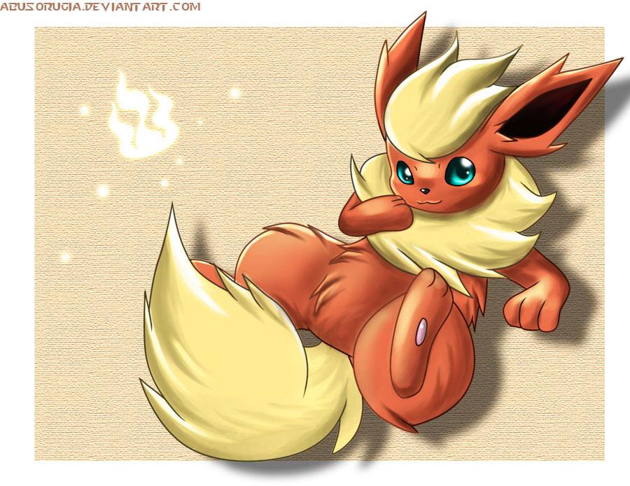 Somewhat seductive Flareon